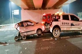 이천 ~ 여주 태평리 3번국도 음주운전사고 일어나