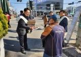 홍성군, 부동산 전자계약시스템 거리홍보