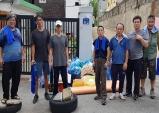 해오름봉사회, 일산동 저소득 취약가구 주거환경 개선 봉사활동