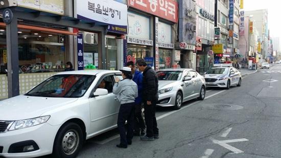 ★★★★★ 180308 안성경찰서, 버스·택시·화물차 법규위반행위 특별단속(3).jpg